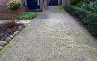 Oude situatie oprit